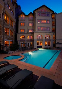 The Outdoor Pool at The Klammer