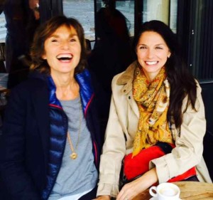 Laughing with Marie in a Paris Café