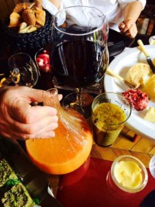 The Perfect Components to a Sunday Brunch: Grapefruit Juice, Wine and Vinaigrette
