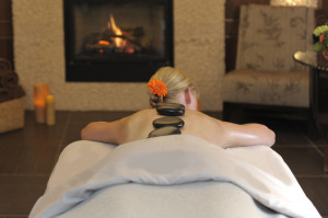 Hot Stone Massage at The Spa at the Hotel Madeline