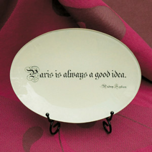 Paris Tray from Quel Objet