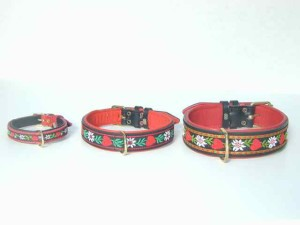 Hearts and Flowers Dog Collars for Your Precious Babies at Alpen Schatz