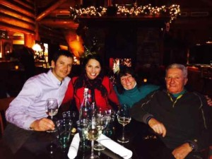 A New Year's Eve Après-Ski Toast at the View with My Guy Steve Togni and Family