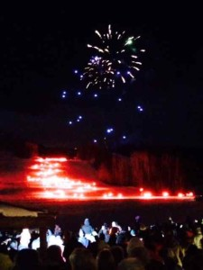 The New Year's Eve Torchlight Parade in Telluride