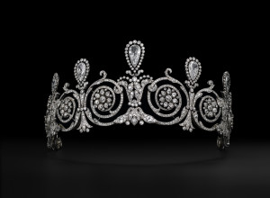 Tempting Tiara from the Cartier Show at the Denver Art Museum