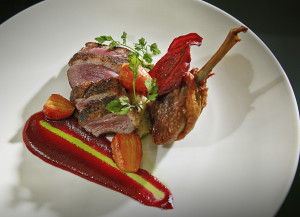 Roasted Duck at Elements