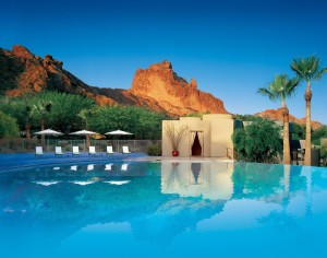 The Infinity Pool at Sanctuary Camelback Mountain Resort & Spa