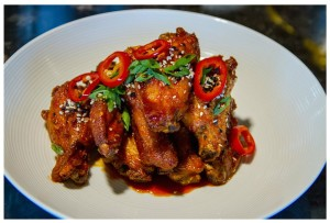 Jaded Wings:  Elegant Bar Food