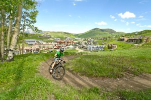 Springing Out from the Crested Butte Base Village