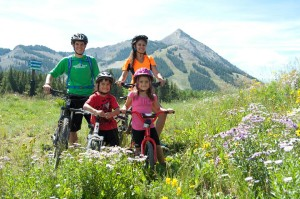 Family Bike Adventure in Crested Butte