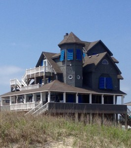 House in Rodanthe Which Was Featured in the Movie Nights of Rodanthe