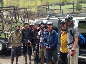 The Bootdoctors Team of Guides on a Spring Training Ride