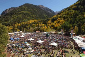 A Spectacular Setting for the Telluride Blues & Brews Festival