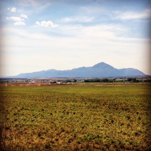 The Iconic Sleeping Ute Mountain in Southwest Colorado