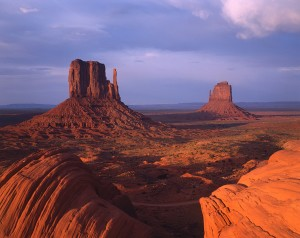 Deep Within Monument Valley