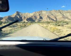 Driving to Fruita, Colorado