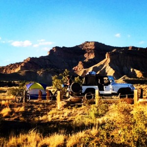 Our Set Up in Fruita
