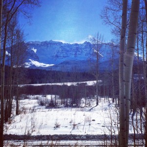 View from My House in Telluride