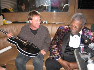 Rick Schultz, Owner of The Autograph Source, and B.B. King