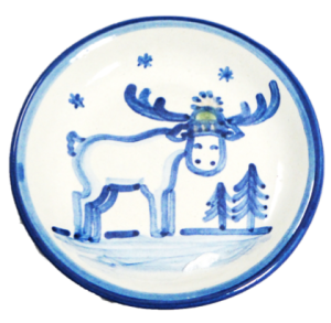 Hadley Pottery Holiday Plate