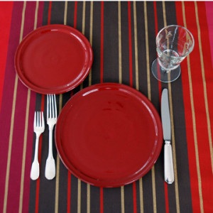Terrace Holiday-Pretty Plates from Quel Objet