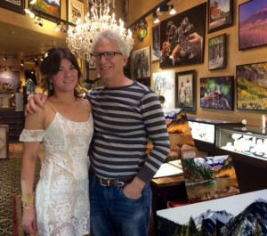 Neal and Karla Elinoff in Their Elinoff Gallery