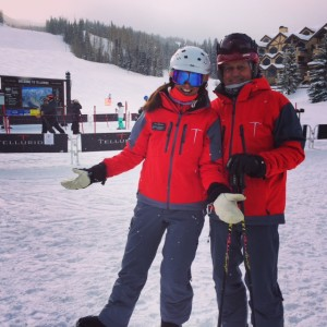 Me and One of My Many Ski Instructor Buddies