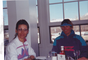 Annie Savath and Cindy Smith Back in the Day