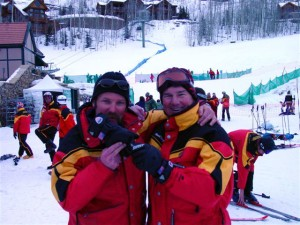 Instructors Kim Hewson and Darrin Corke 2000-2001 Season