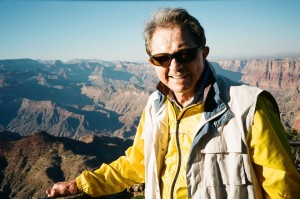 Dad Taking His First Look at the Grand Canyon in 2010