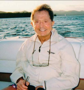 My Father on Lake George , New York in 2008