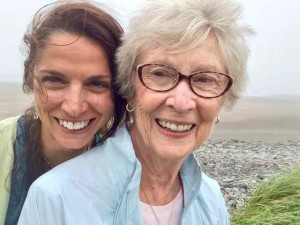Mom and Me this Past Summer in Nova Scotia