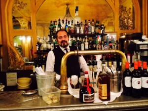 The Barman at Julien