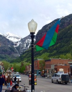 The Town of Telluride Early June