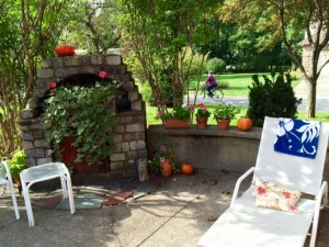 The Patio: All Set for Mom