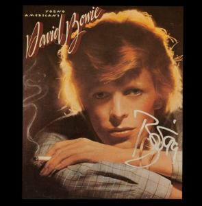 Bowie Memorabilia from The Autograph Source