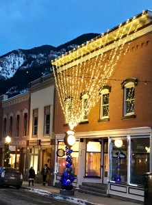 Telluride Town All Wrapped Up for the Holidays