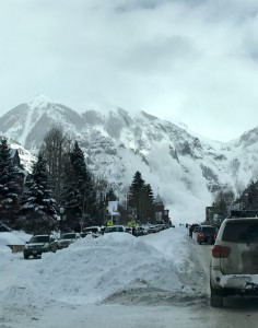 Avalanche Control Work on Ajax